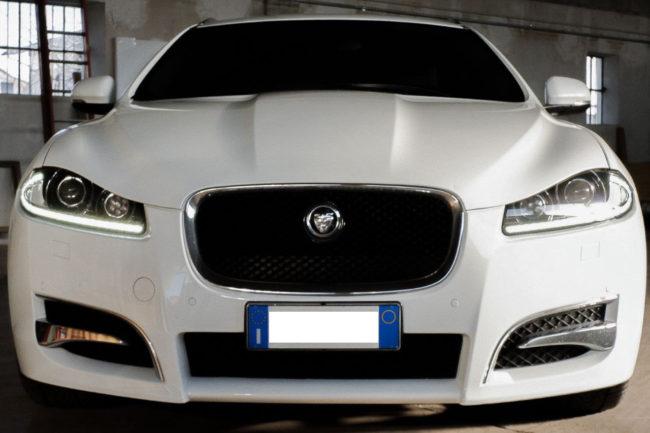 Auto di rappresentanza GioBus Jaguar